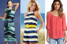 simple patterns of women's summer clothes Summer Outfits Women, Summer Dresses, Summer Clothes, Sewing Patterns, Sundresses, Fashion, Models, Modeling, Simplicity Patterns