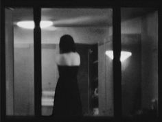 Yasmine Chatila  The Woman Standing on Kitchen Counter, Upper West Side, Saturday 4:03 AM, 2008, Fujicrystal archive black and white print, 46.5 x 56.5 in. #photography #nyc