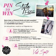 Pin it to win it! Gewinne eine GLOSSYBOX Style Edition.