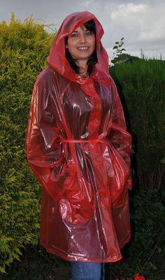 Raincoats For Women Stitches Product Clear Raincoat, Vinyl Raincoat, Raincoat Jacket, Plastic Raincoat, Yellow Raincoat, Imper Pvc, Transparent Raincoat, Rain Fashion, Women's Fashion
