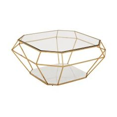 Take a look at the Asscher Coffee Table at LuxDeco.com