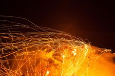 Fire Light - Art - Embers - Flame Photography - Abstract Art - Light Trails - Photography - Australia Art - Home decoration - Fine Art