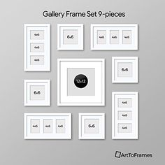 decorating a hallway Frames On Wall, Wall Collage, Framed Wall Art, White Frames, Gallery Frame Set, Gallery Wall Layout, Family Pictures On Wall, Family Wall, Picture Wall Living Room