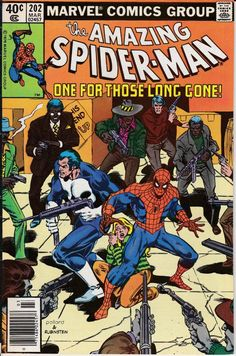 Amazing Spider-Man 1963 1st Series 202 March 1980 by ViewObscura