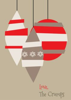 Love, (insert your name here) Customizable holiday cards!
