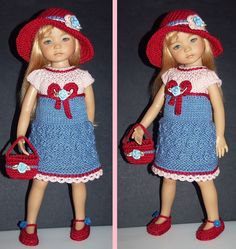 """Outfit EFFNER LITTLE DARLING DOLL 13 """""""