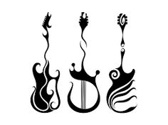 Image result for tattoo guitar