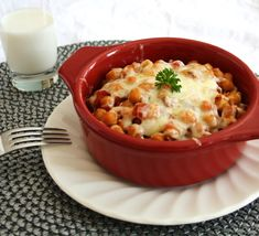 Chickpeas and Cheese