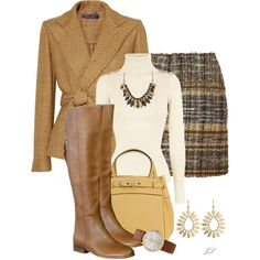 """Butter Toffee"" by jenalind on Polyvore"