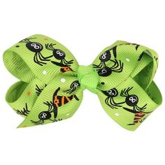 Fullkang Girls Halloween Bat Ghost Pumpkin Print Ribbon Bowknot Hairpin *** Find out more about the great product at the image link. #hairnourishing