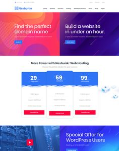 Nexbunker - ModelTheme Domain Hosting, Building A Website, Hosting Company, Best Wordpress Themes, Page Layout, News Online, Knowledge, Author, Writers