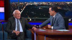 "6:48 PM PDT 9/7/2017  by   Patrick Shanley       In an interview with Stephen Colbert on 'The Late Show,' the senator responded to Clinton's remarks that he damaged her 2016 presidential campaign with a call for unity: ""Let's get together, take on Trump's..."