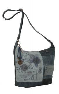 Schultertasche kimmidoll blau Stickerei Blume Anhänger - Bags & more Rebecca Minkoff, Bags, Style, Fashion, Flower, Embroidery, Handbags, Swag, Moda