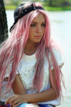 Pastel Pink Hair #Pastel #Pink