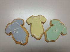 Baby shower cookies with colored fondant and piped royal icing. 75 done with three sets of hands...all in an afternoon's work.
