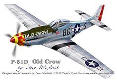 p51d old crow model artwork1