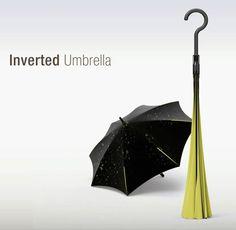 これからの梅雨はこんな傘で乗り切りたい。逆転の発想の傘【Inverted Umbrella】