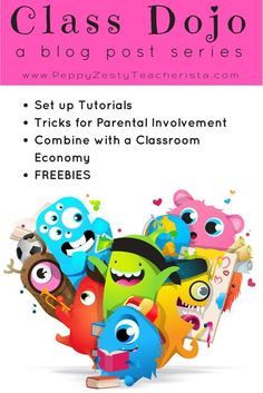 Elementary teacher looking for classroom management ideas to increase parent communication ideas? This easy technology in the classroom idea is perfect! Class dojo tutorials and class dojo rewards! Learn how to integrate class dojo with a classroom economy system and classroom economy rewards! Tons of tips and free classroom resources!