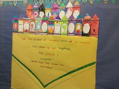 Harmony Day idea. Love that each student got their own crayon in the box. Very creative for younger students. Mrs. Brunn's K/1 Students are ready for Harmony Day.