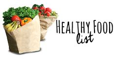 To Insanity & Back: Healthy Food list(s)