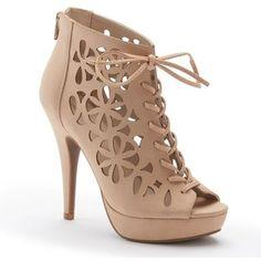 Apt. 9® Women's Floral Cutout High Heels