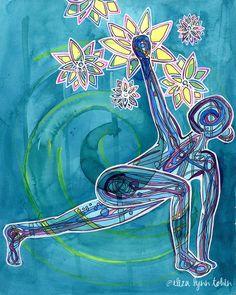 Chakra Art, Sacral Chakra, Chakras, Asana, Yoga Sutras, Medical Intuitive, Lotus Art, Lotus Yoga, Yoga Photos