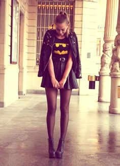 Batman girls outfit