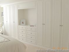 Master bedroom closet design, The meaning of a master bedroom's closet varies from one person to another. A luxurious master bedroom would have a huge closet design like a small room on itself, whi Bedroom Closet Design, Master Bedroom Closet, Basement Bedrooms, Bedroom Wardrobe, Wardrobe Closet, Built In Wardrobe, Closet Designs, Bedroom Wall, Bedroom Decor