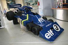 F1黄金期にティレルが生み出した6輪マシン