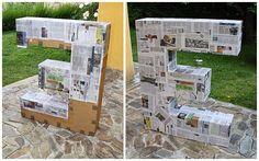 La neurona del manitas: Letras gigantes de cartón para decoración de eventos