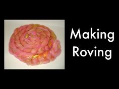 Drum Carder--Making Roving - YouTube
