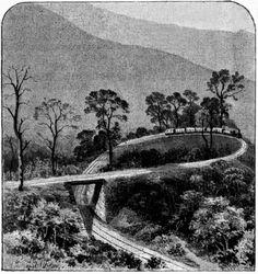 Darjeeling railway road below Kurseong