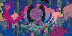 planet - artbook illustration | video on Behance