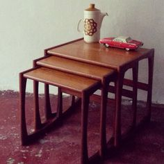 Wonderful Nest of three G Plan Coffee/Occasional tables