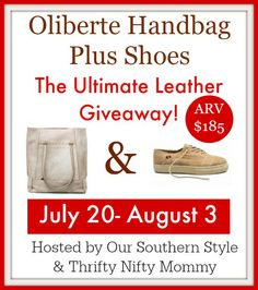 Oliberte - The World's Only Fair Trade Certified Foot Wear Manufacturer PLUS The Ultimate Leather Giveaway!