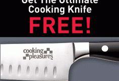 FREE Pro-Grade Santuko Chef's Knife PLUS Free Gift!
