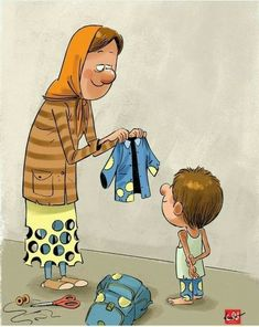These pictures with deep meaning represent the life of current society. Artists beautifully illustrated the current society situation. Mom And Dad Quotes, Real Life Quotes, Reality Quotes, True Quotes, Pictures With Deep Meaning, Art With Meaning, Funny Cartoons, Funny Memes, Satirical Illustrations