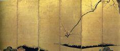 """Red and White Plum Trees,"" Ogata Korin (1658-1716), Edo period, 17th century (Japan)"