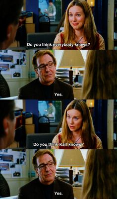 """""""Do you think everybody knows?""""~ Love Actually (2003)"""
