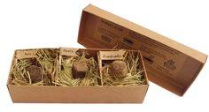 Caja 3 Bombas de Semillas para el huerto urbano - EcoQuchu - Bombas de Semillas, Semillas de plantas aromáticas, Mesas de cultivo, Jardineras, Sustratos, Regalos Ecológicos, Regalos Responsables, Regalos Originales, etc... EcoQuchu