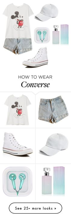 """Untitled #202"" by lexiilexi on Polyvore featuring Converse, American Apparel, MANGO, rag & bone and Calvin Klein"