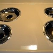Serious stove top drip pan cleaning.  This really works!