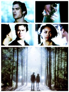 "S5 Ep22 ""Home"" - Bonnie and Damon -- This KILLS me. Just. ahhhh it's too much!!!"