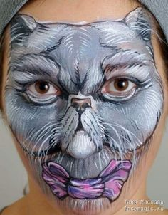 43 Super Ideas cats costume face paintings #cats