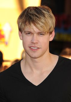 Chord Overstreet as Sam Evans (Glee).  Sam's character reminds me of Aaron Gugino from school. They're SO similar.