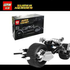 28.90$  Watch now - http://ai5ns.worlditems.win/all/product.php?id=32800835191 - IN STOCK New Lepin 07061 Super Hero Series The Batman Motorcycle Set 5004590 Educational Building Blocks Bricks Toys Model boy