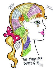 Mind of a derby girl
