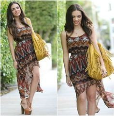 Great bag and great dress!