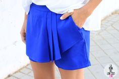 imagenes de faldas de moda 2015 azul - Buscar con Google