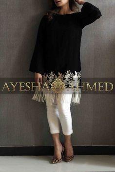 Ayesha Ahmed Studio is part of Pakistani fashion casual - Pakistani Formal Dresses, Pakistani Fashion Casual, Pakistani Dress Design, Pakistani Outfits, Indian Fashion, Stylish Dresses For Girls, Stylish Dress Designs, Casual Dresses, Stylish Dress Book